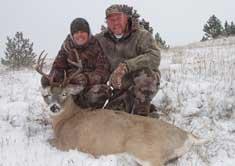 semi guided mule deer hunts montana